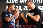 Weigh-in Photos - Strikeforce Barnett vs. Cormier