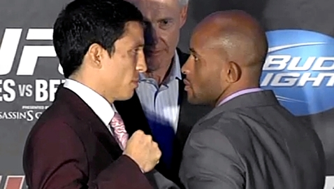 Benavidez and Johnson UFC 152 faceoff