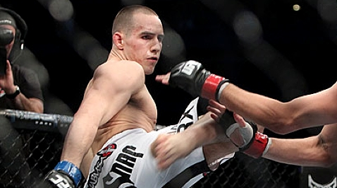 Rory MacDonald at UFC 129