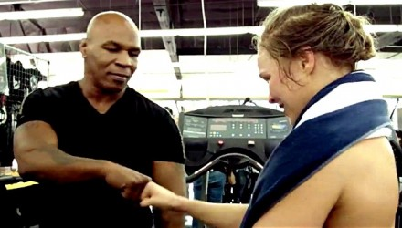 Mike Tyson and Ronda Rousey