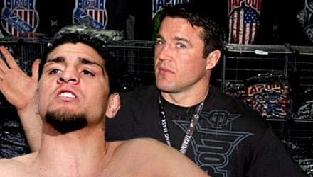 Nick Diaz and Chael Sonnen