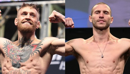 Conor McGregor and Donald Cowboy Cerrone