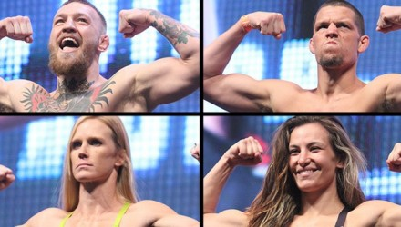 UFC 196 weigh-in video