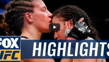 Tate vs Pennington UFC 205 Highlights