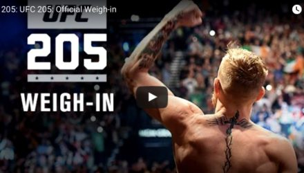 UFC 205 Weigh-in Stream