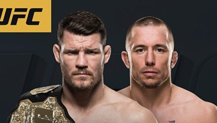 Michael Bisping vs Georges St-Pierre