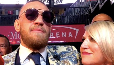 Conor McGregor and his mother