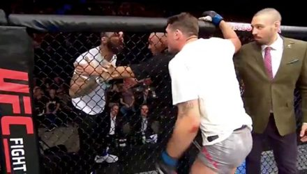 Darrent Till and Mike Perry at UFC Gdansk