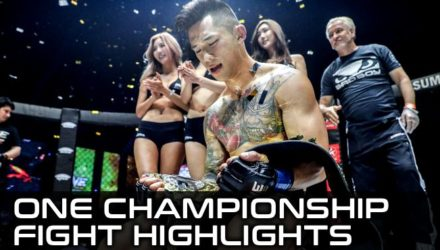 ONE Championship Fight Highlights - Martin Nguyen 2 titles