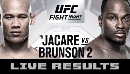 UFC on FOX 27 Live Results