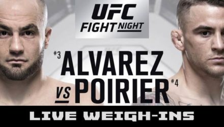UFC on FOX 30 Live Weigh-ins