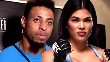 Greg Hardy and Rachael Ostovich