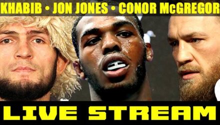 Khabib Nurmagomedov - Jon Jones - Conor McGregor - LIVE STREAM