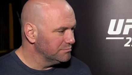 Dana White on ESPN at UFC 234