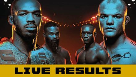 UFC 235 Jones vs Smith Live Results