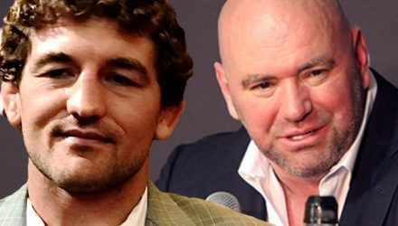 Ben Askren and Dana White