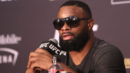 Tyron Woodley UFC 235 press conference