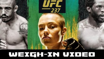 UFC 237 weigh-in video
