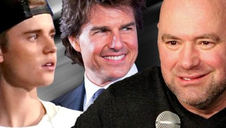 Dana White over Justin Bieber and Tom Cruise
