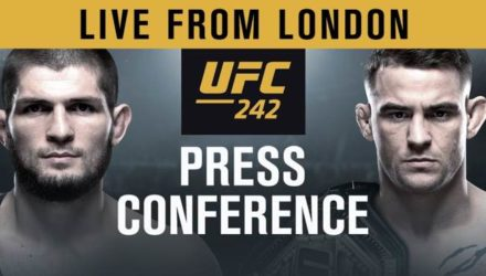UFC 242 press conference from london