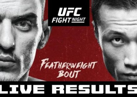 UFC Greenville Live Results