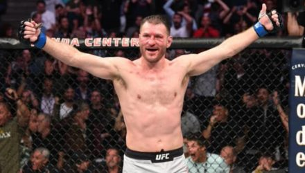 Stipe Miocic victorious at UFC 241
