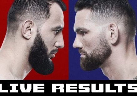 UFC on ESPN 6 Reyes vs Weidman live results