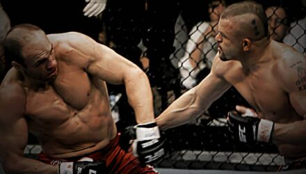 Randy Couture vs Chuck Liddell at UFC 57