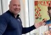 Dana White candy shop on UFC Fight Island