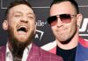 Conor McGregor and Colby Covington