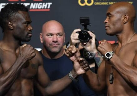Uriah Hall and Anderson Silva face off at UFC Vegas 12
