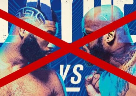 UFC Vegas 15 Blaydes vs Lewis main event canceled