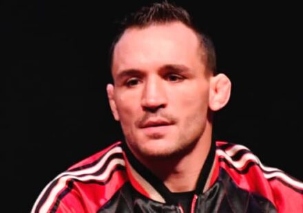 Michael Chandler at UFC 257 press conference